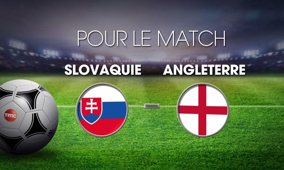 UPDATE MI-TEMPS : Slovaquie  - Angleterre  : Découvrez les cotes du match