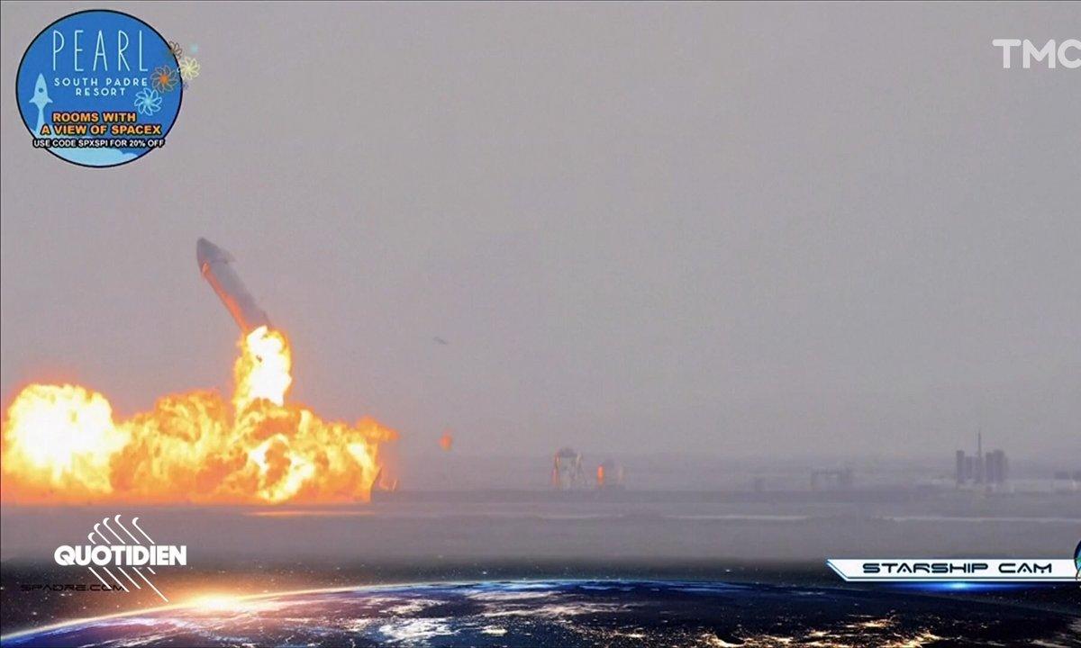 Space X : nouvelle explosion de fusée pour Elon Musk