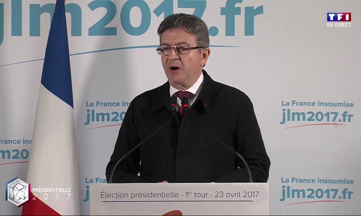 Le discours de Jean-Luc Mélenchon en intégralité