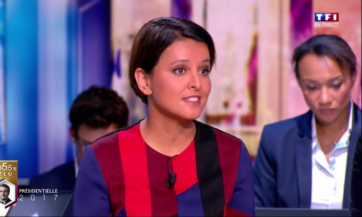 Macron président : la première réaction de Najat Vallaud-Belkacem
