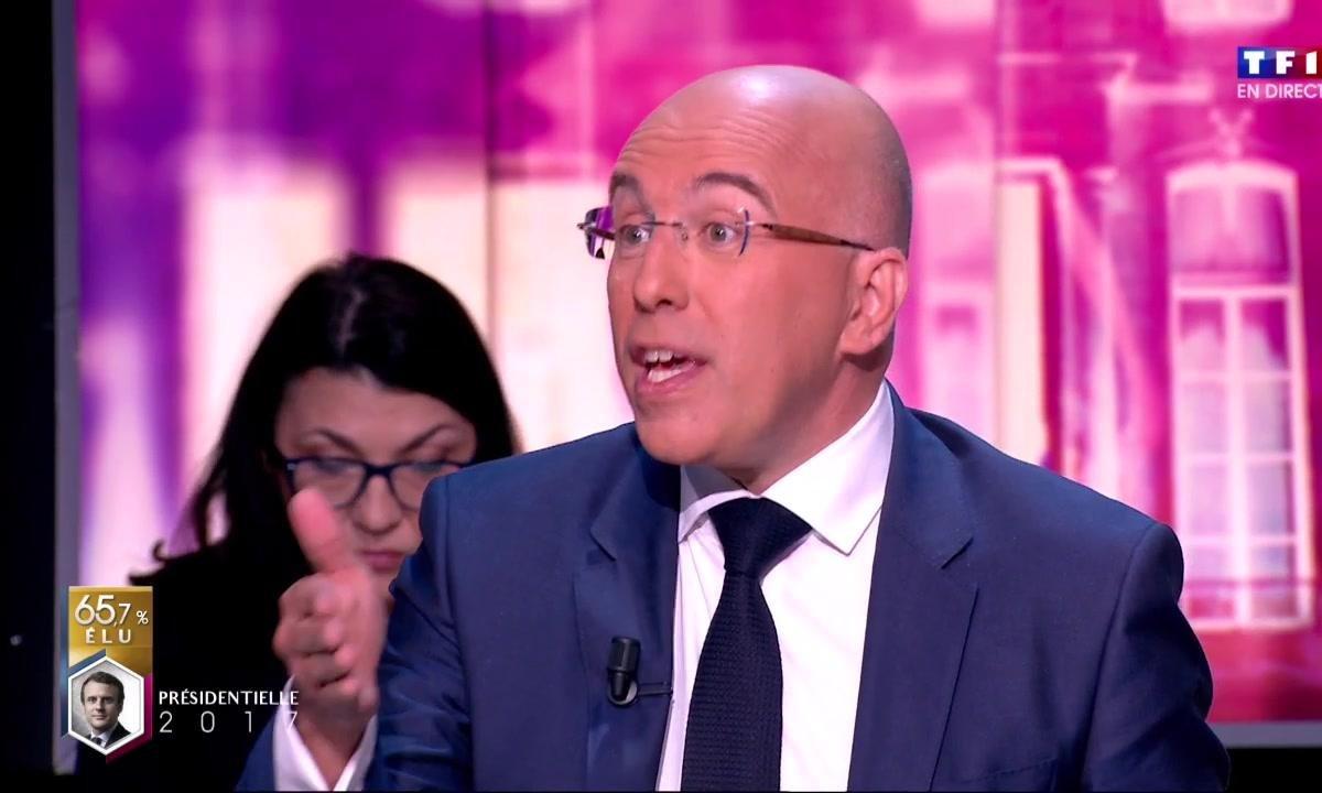 Macron président : la réaction d'Eric Ciotti sur TF1