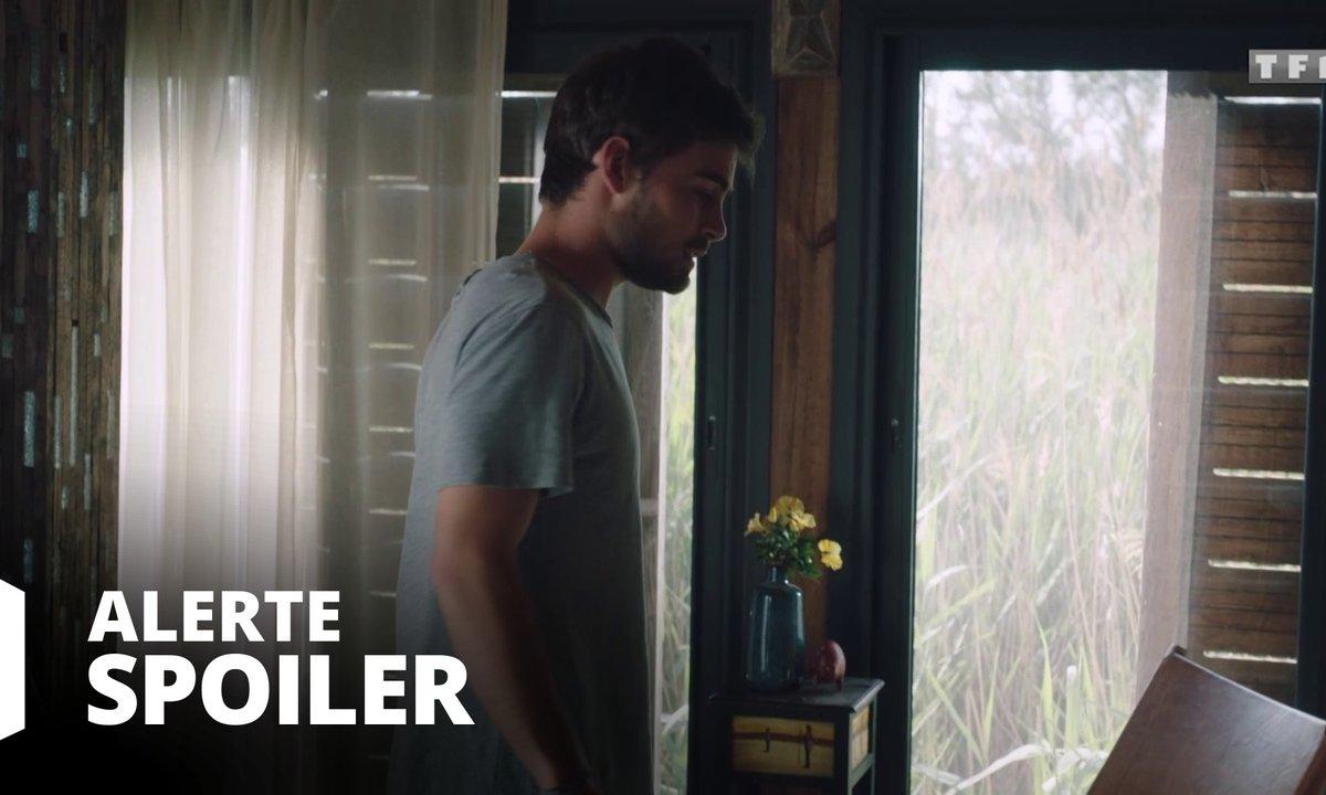 [SPOILER] - Maxime fouille la chambre de Sylvie quand tout à coup...