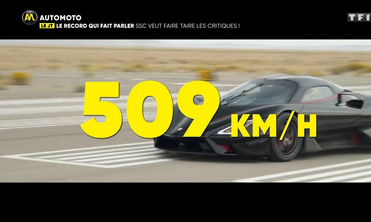 Insolite - Un record de vitesse qui fait parler !