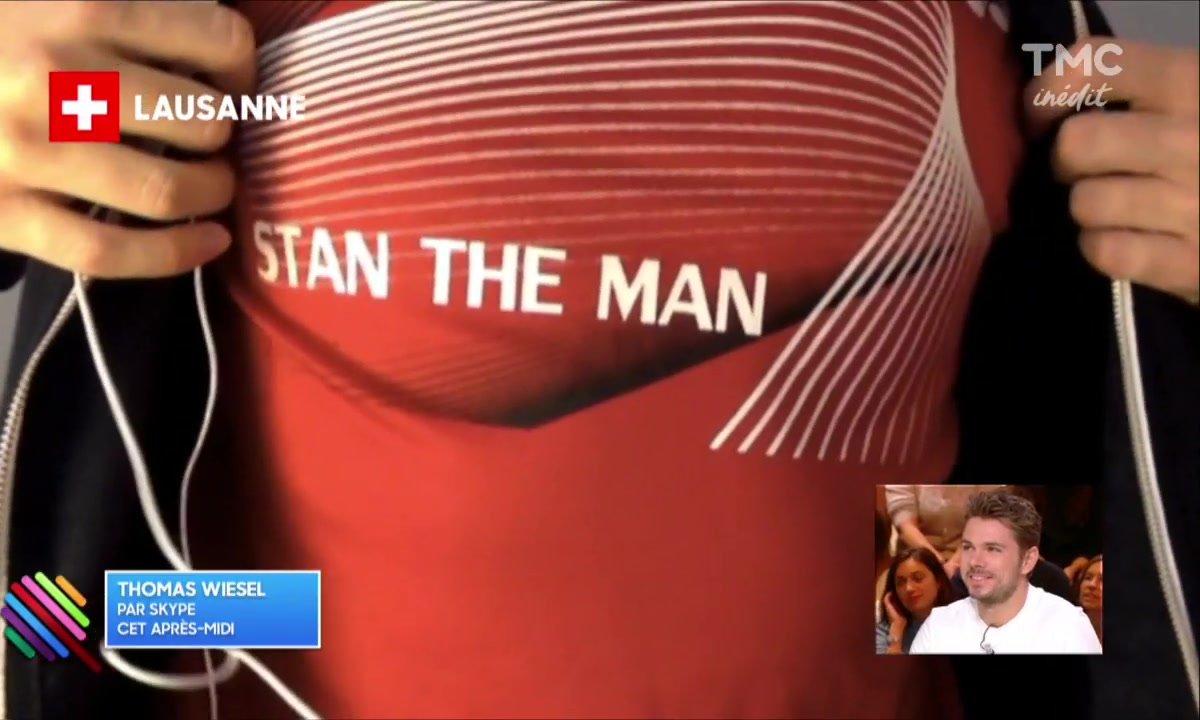 Thomas Wiesel a un message pour Stan the Man