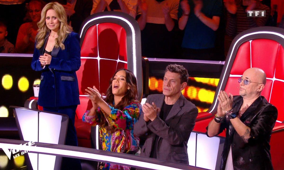 THE VOICE 2020 - Standing ovation pour la Battle Cheyenne, Maria et Amaury