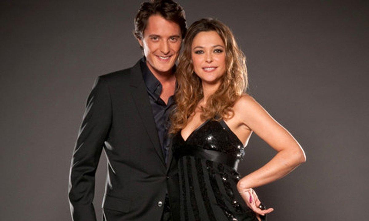 Un american smooth pour Laury Thilleman et  Maxime Dereymez sur «Wonderful world» (Céline Dion)