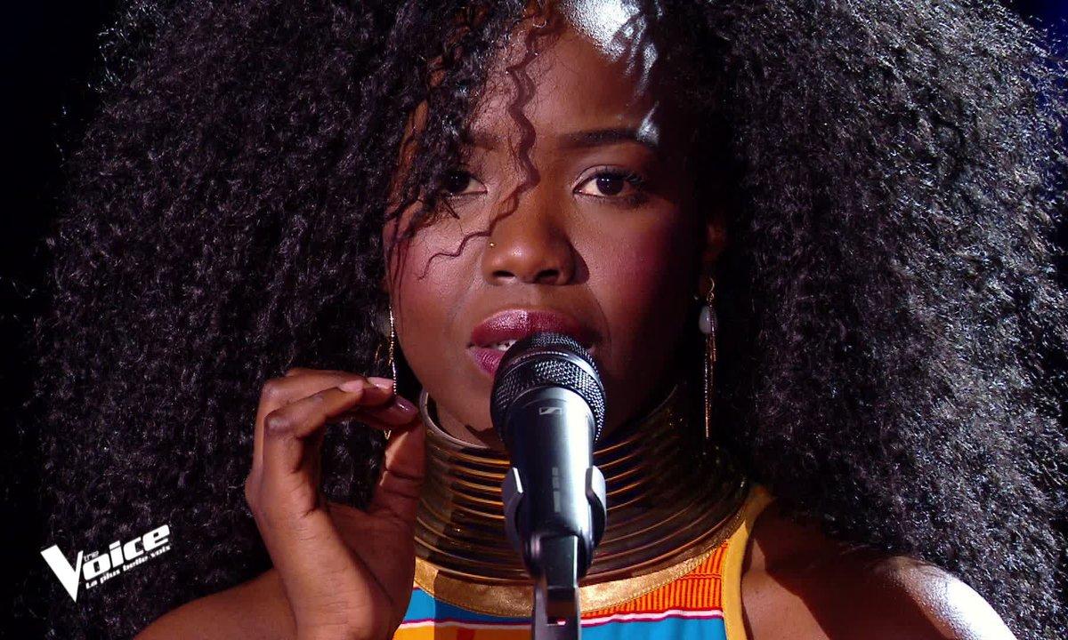 """The Voice 2021 - Stellia Koumba chante """"La quête"""" de Jacques Brel"""