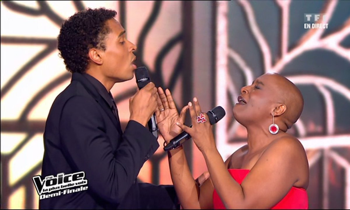 Stéphan Rizon & Dominique Magloire - J'oublierai ton nom (Johnny Hallyday) (saison 01)