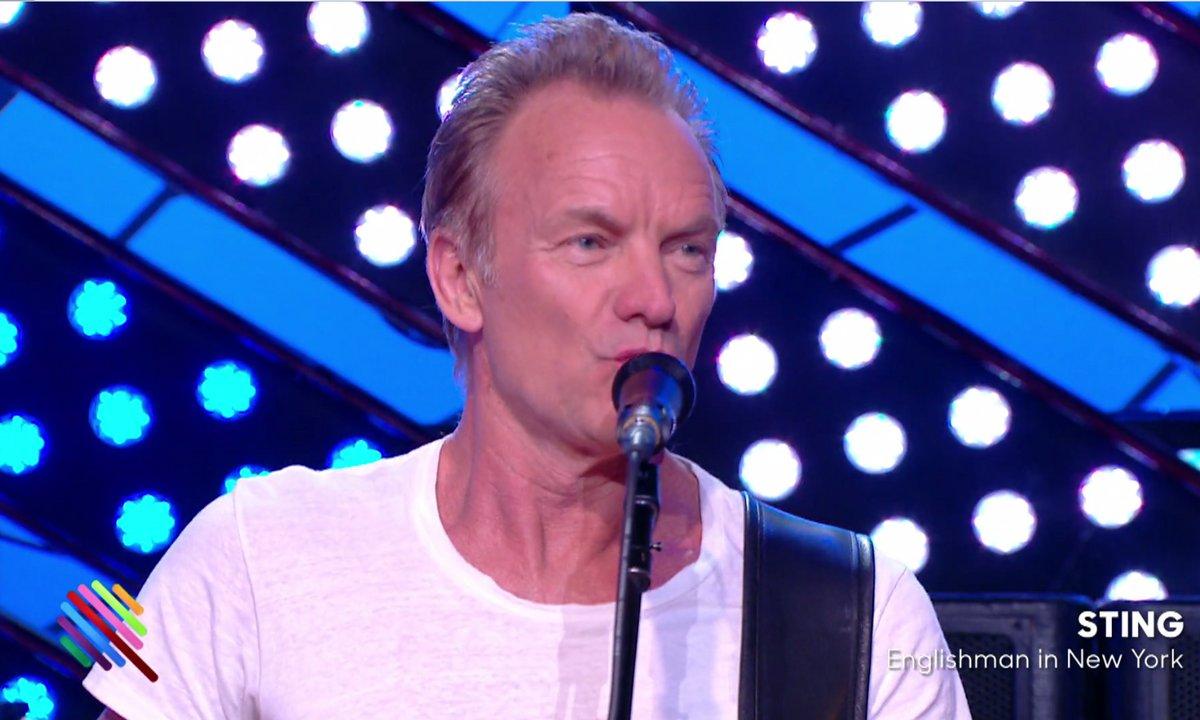 "Sting - ""Englishman in New-York"" en live sur Quotidien (exclu web)"