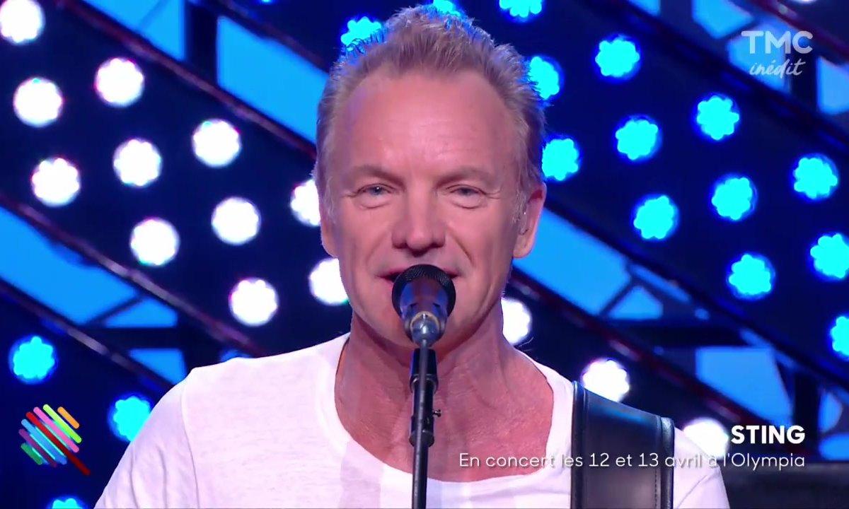 Sting - « One fine day » sur la scène de Quotidien