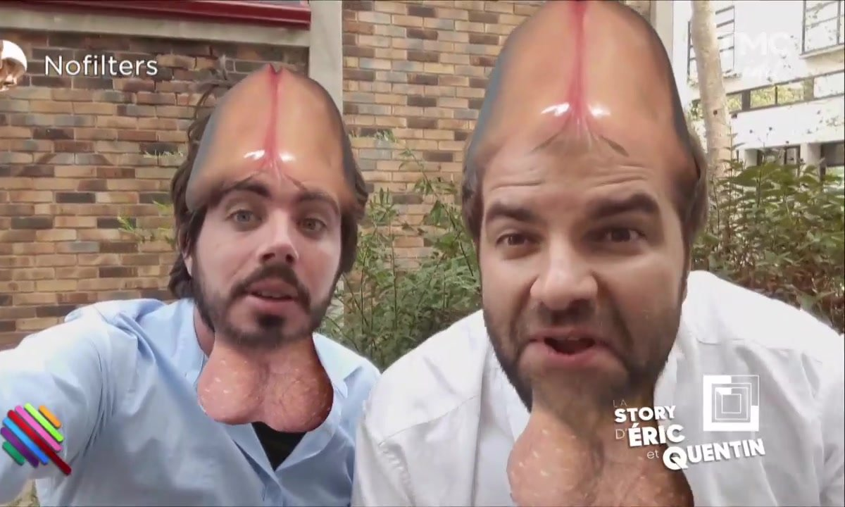 La Story Eric & Quentin : des filtres bien couillus