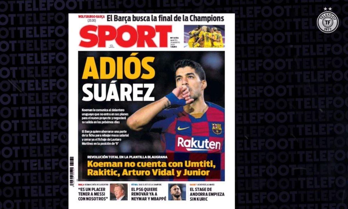 VIDEO - Le Barça ne veut plus de Luis Suarez !