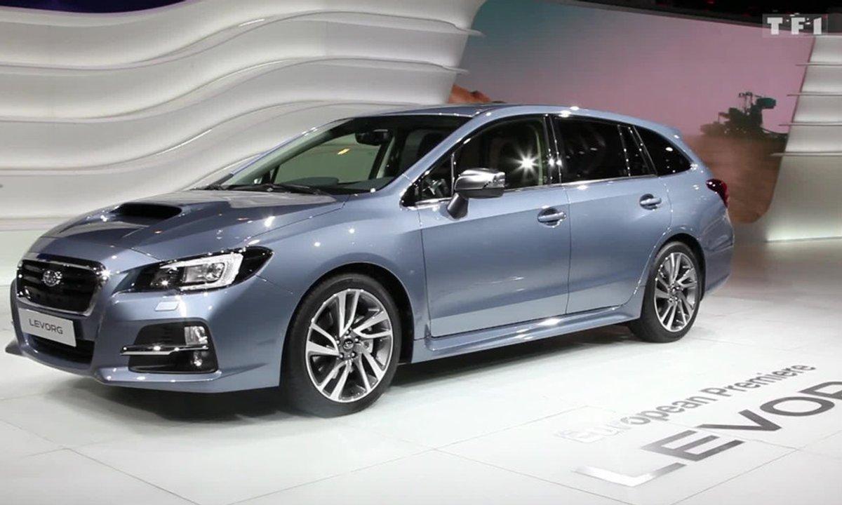 Subaru Levorg, le break alternatif au Salon de Genève 2015