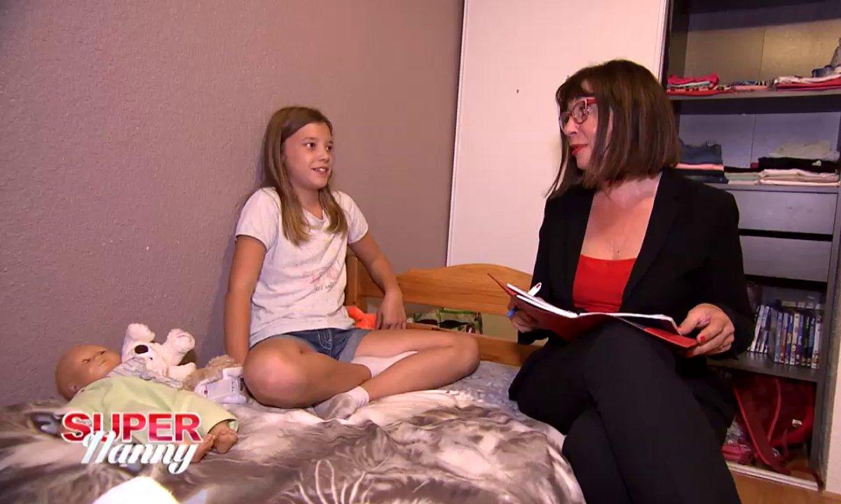 """Alicia se confie à Super Nanny : """"J'aimerais que mes parents passent plus de temps avec moi"""""""