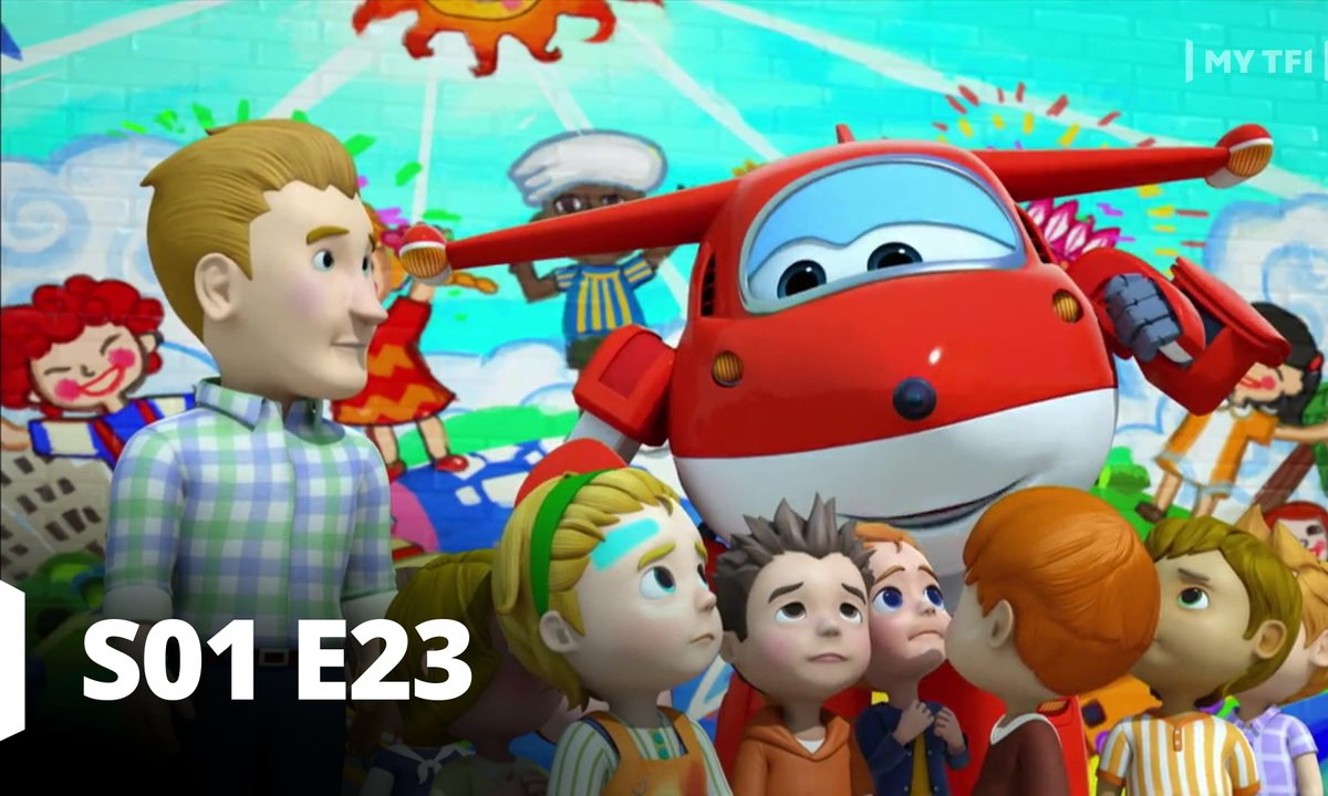 Super Wings - S01 E23 - A vos pinceaux !