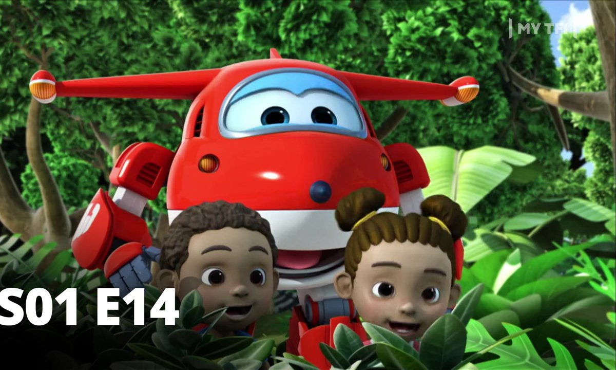 Super Wings - S01 E14 - Congas au Congo