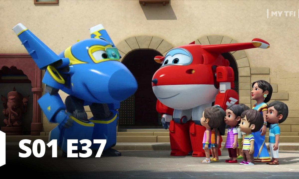 Super Wings - S01 E37 - De toutes les couleurs!