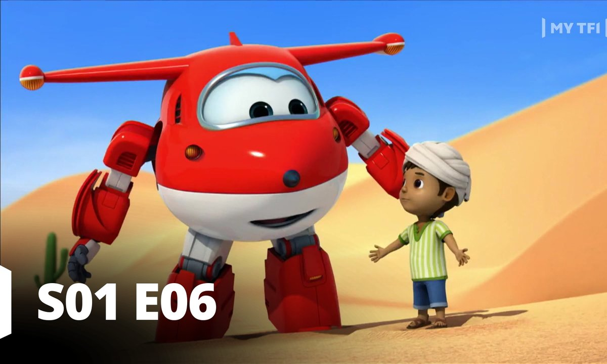 Super Wings - S01 E06 - Glissades au Sahara