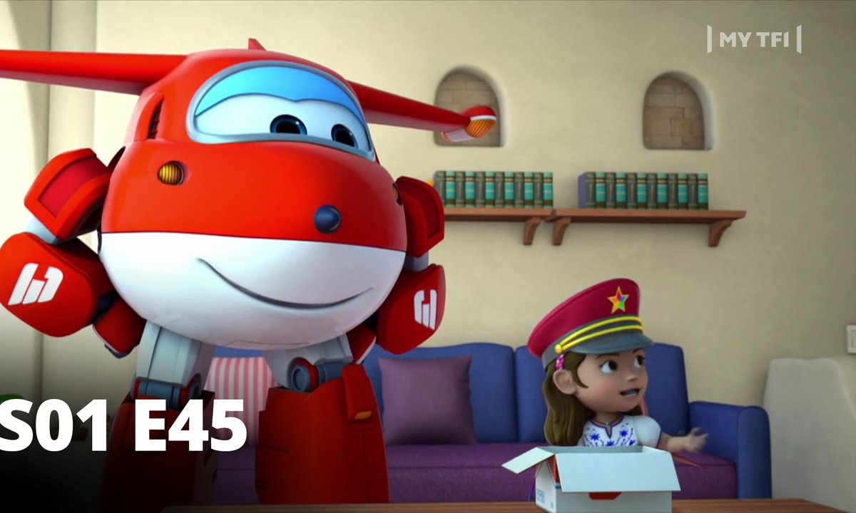 Super Wings - S01 E45 -Le petit train de Santorin