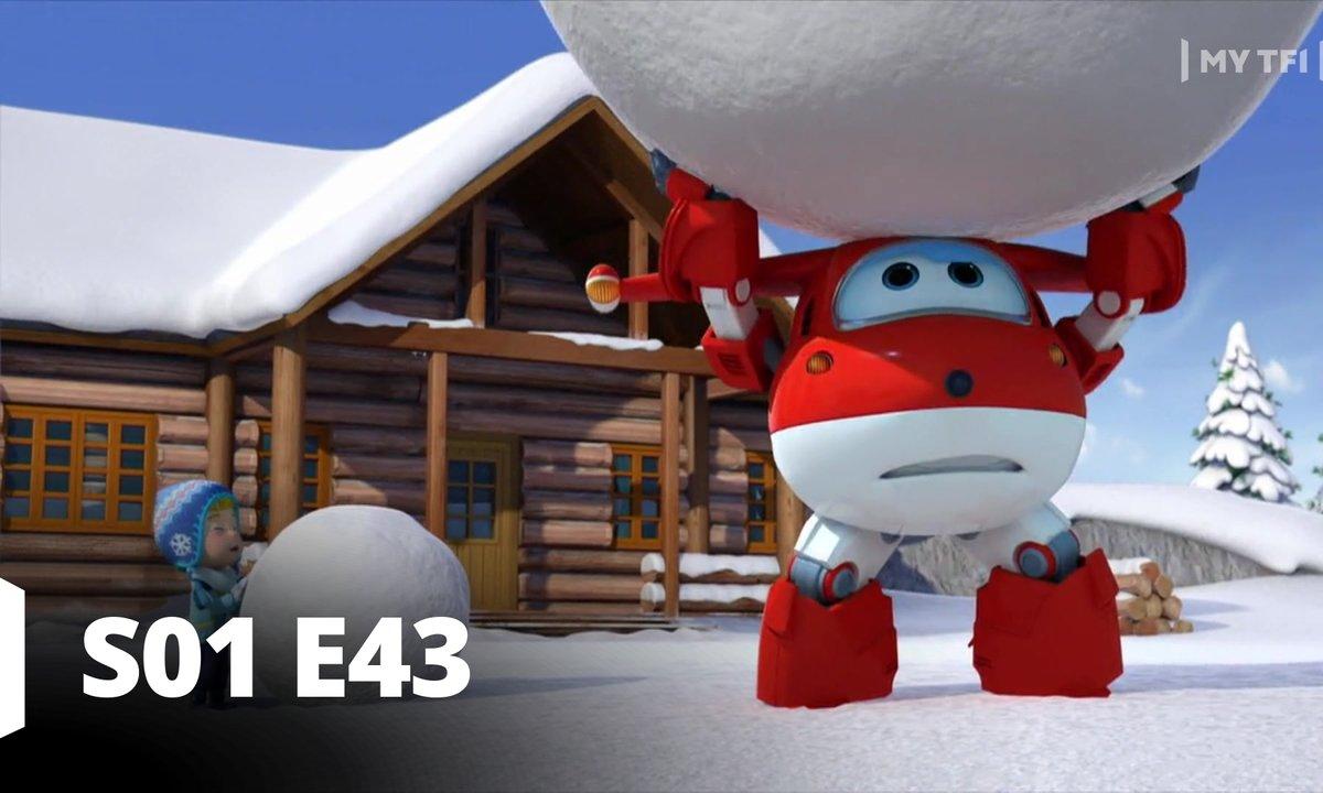 Super Wings -S01 E43 - L'effet boule de neige