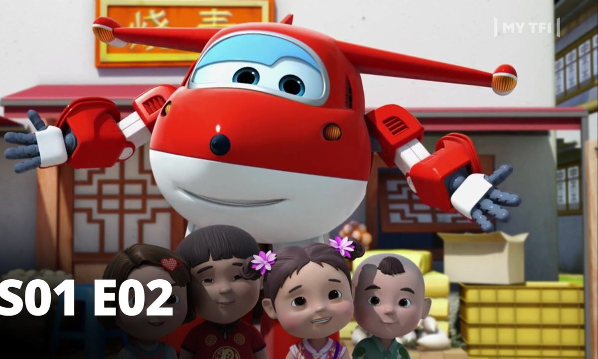 Super Wings - S01 E02 - Ombres chinoises