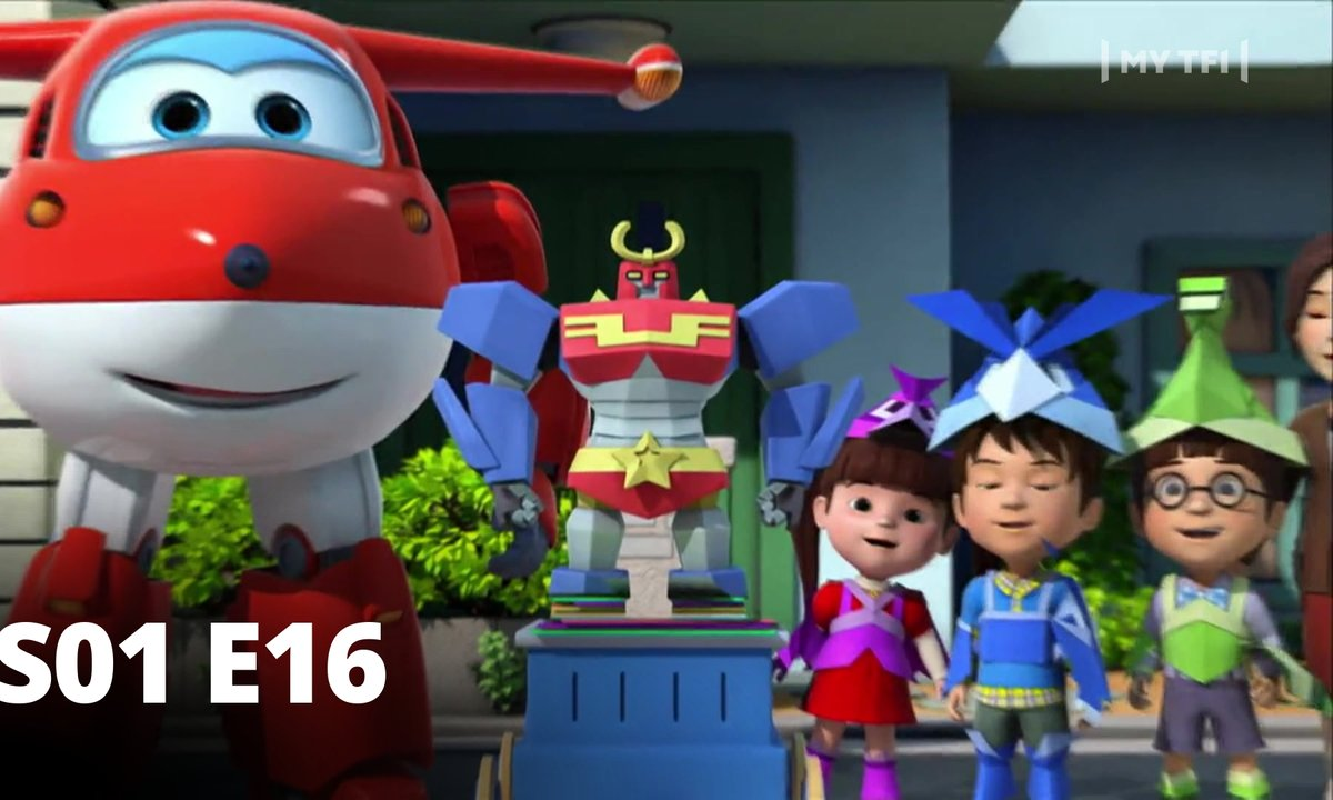 Super Wings - S01 E16 -Origami en folie