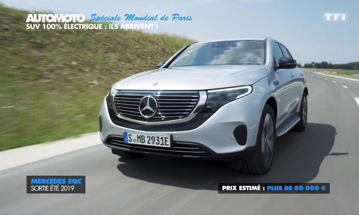 Mondial de l'Auto : Les SUV 100% électrique arrivent !