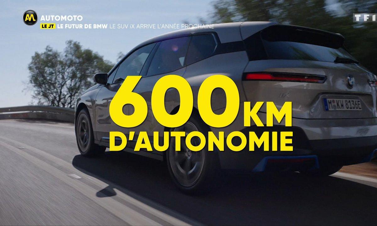 VIDEO - Le futur SUV électrique de BMW, le iX !