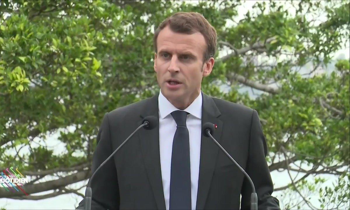 Depuis Sydney, Macron refuse de parler du 1er mai