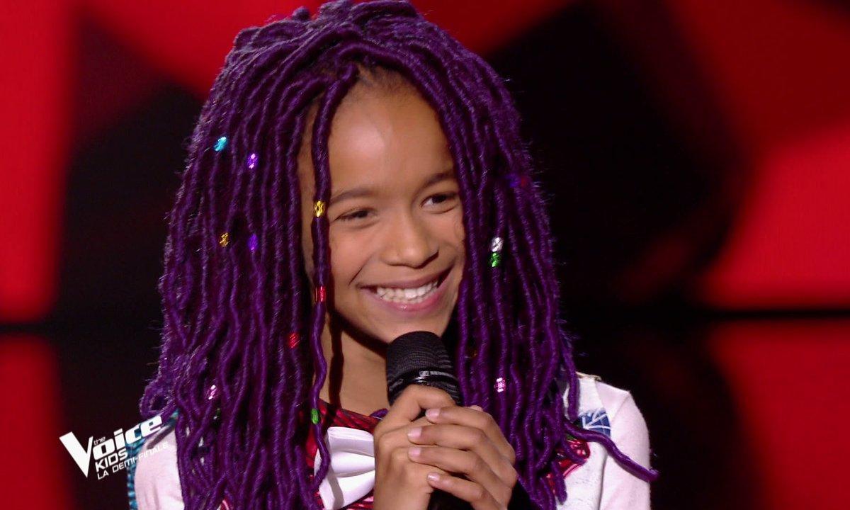 The Voice Kids : Talima chante « Papaoutai » de Stromae (Team Soprano)