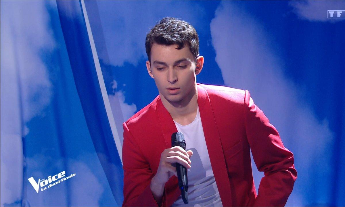 """The Voice 2021 – Tarik chante """"Le déserteur"""" de Boris Vian (Demi-finale)"""