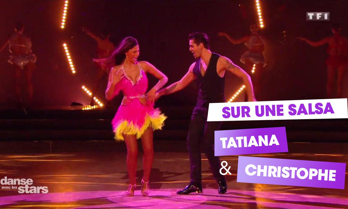 "Sur une Salsa, Tatiana Silva et Christophe Licata (""Magic in the air"" de Magic System)"