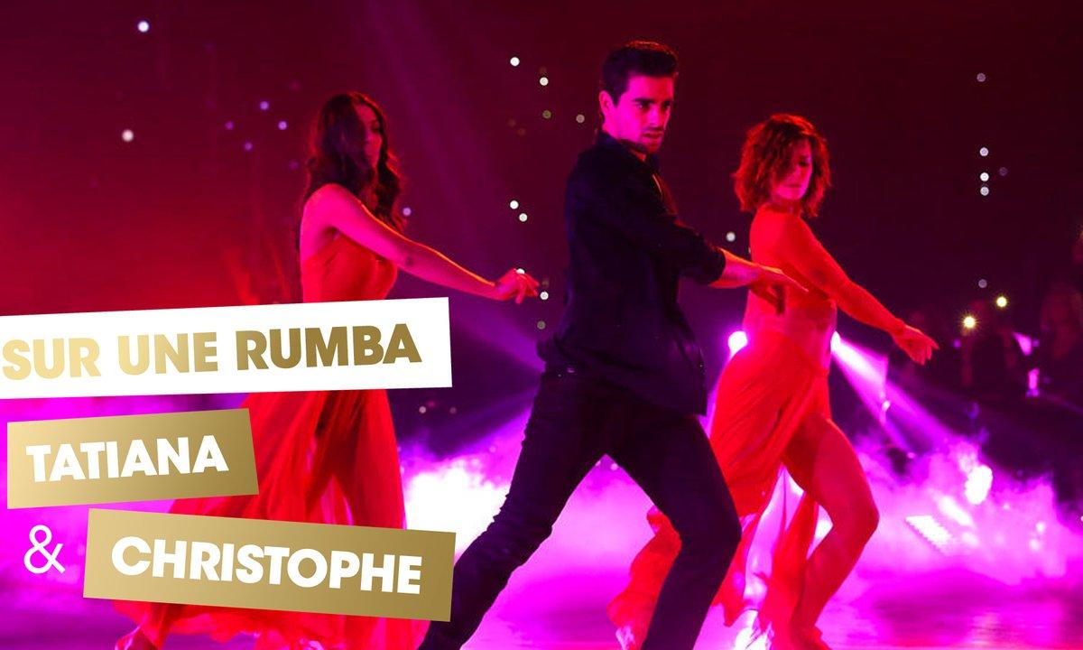 Sur une Rumba, Tatiana Silva, Christophe Licata et Fauve Hautot (Marie)