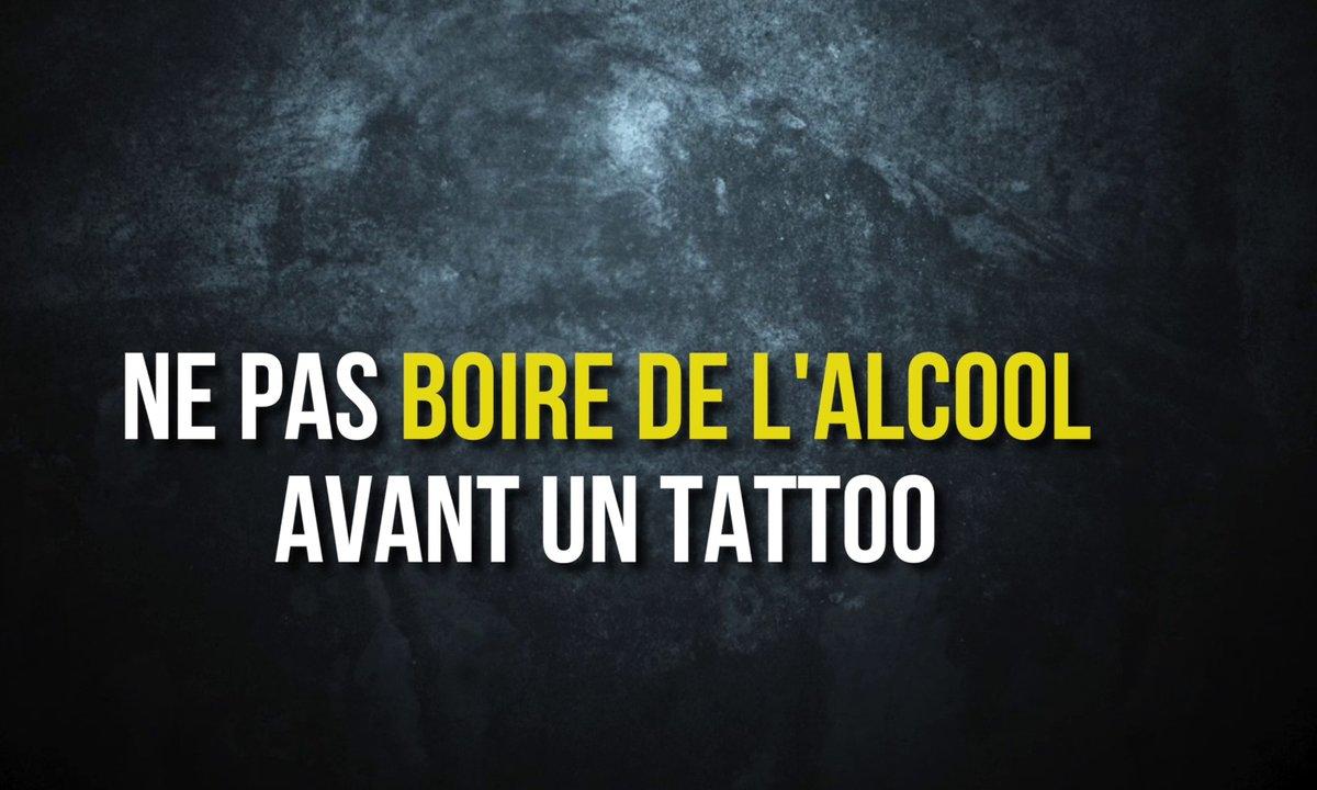 Conseil n°5 – Ne pas boire de l'alcool avant un tattoo