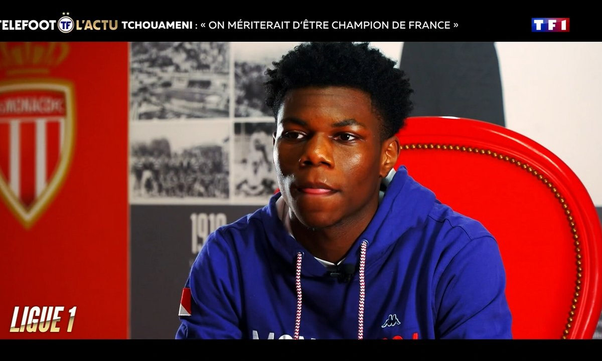 "Tchouaméni - ""On mériterait d'être champion de France"""