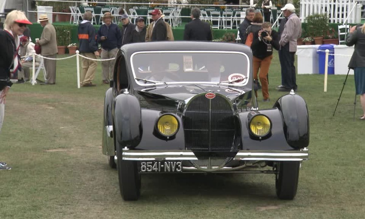 Teaser : Automoto au plus beau Concours d'élégance Automobile du monde