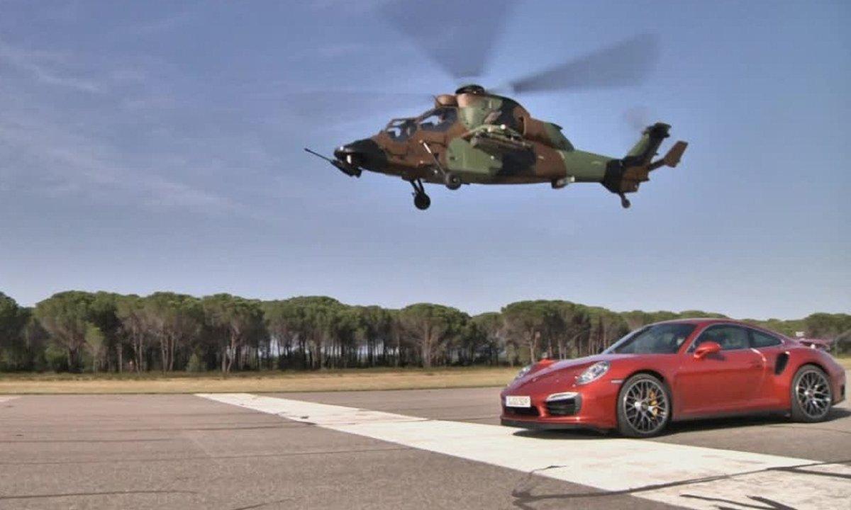 Teaser Automoto : un duel Hélicoptère contre Porsche ce dimanche !