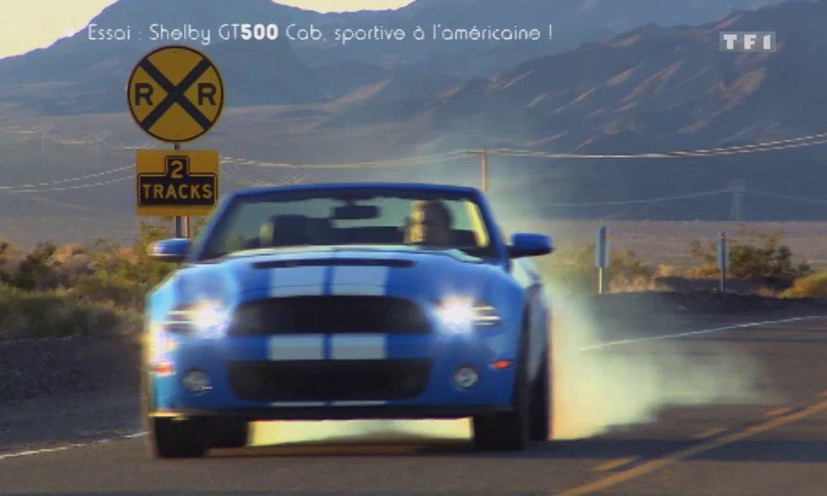 Essai Vidéo exclusif : la Shelby GT 500 Cabriolet