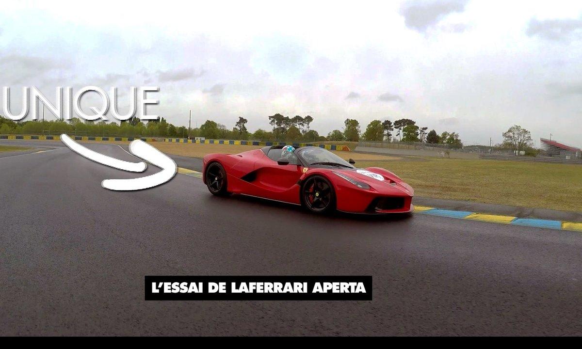 Teaser - La Ferrari LaFerrari en exclusivité mondiale