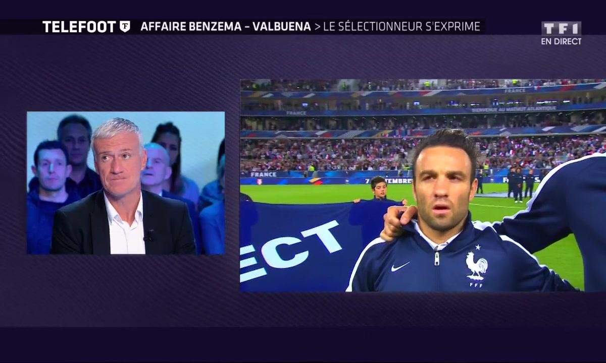 Affaire Benzema - Valbuena : Deschamps s'exprime