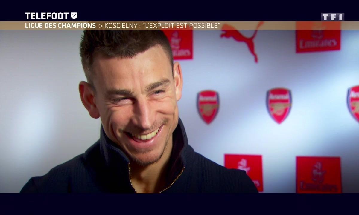 """Arsenal - Koscielny : """"L'exploit est possible !"""""""