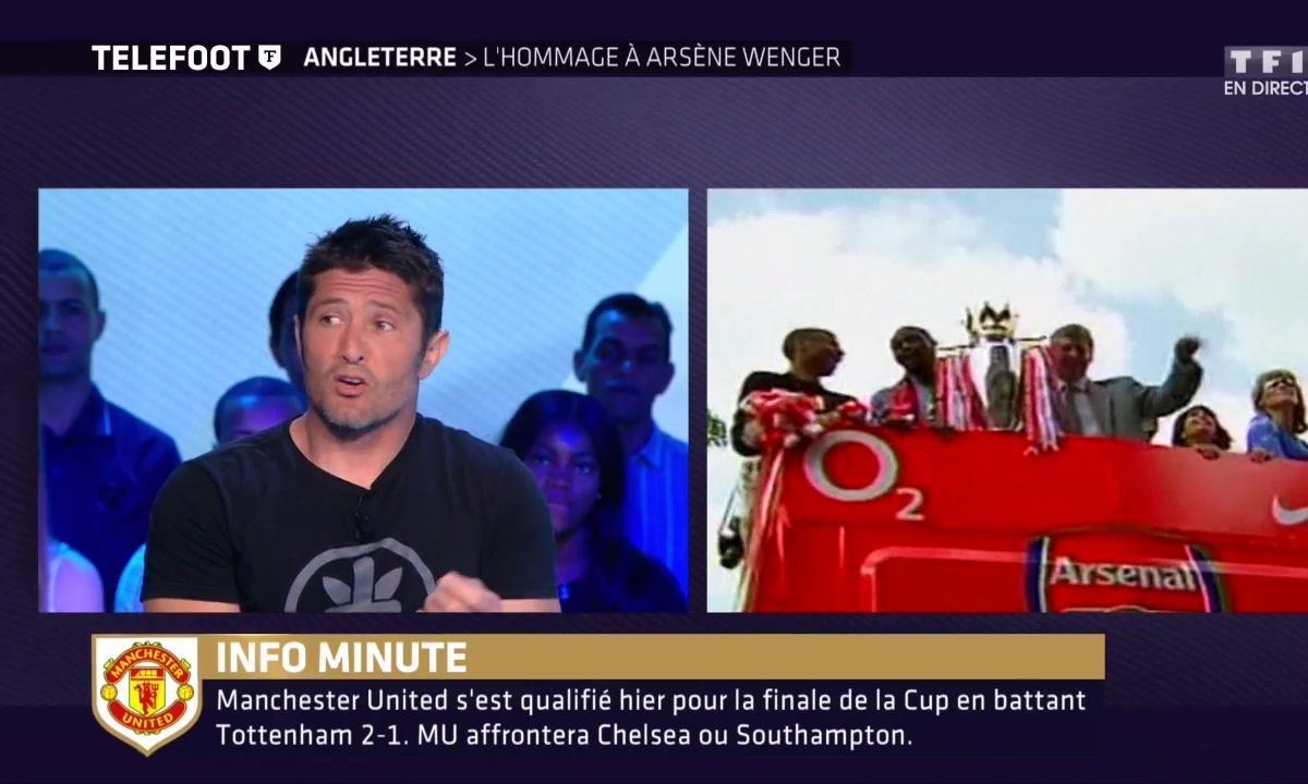 Arsenal : L'hommage à Arsène Wenger