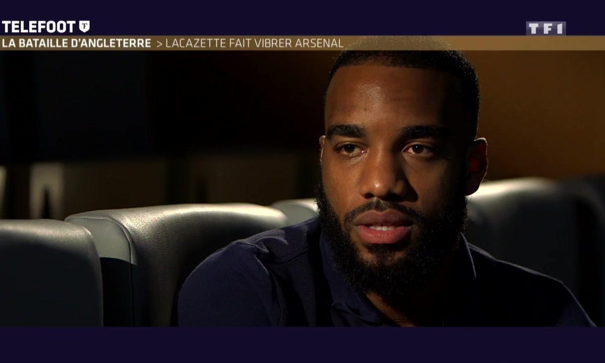 Arsenal : Lacazette parle de la concurrence avec Giroud