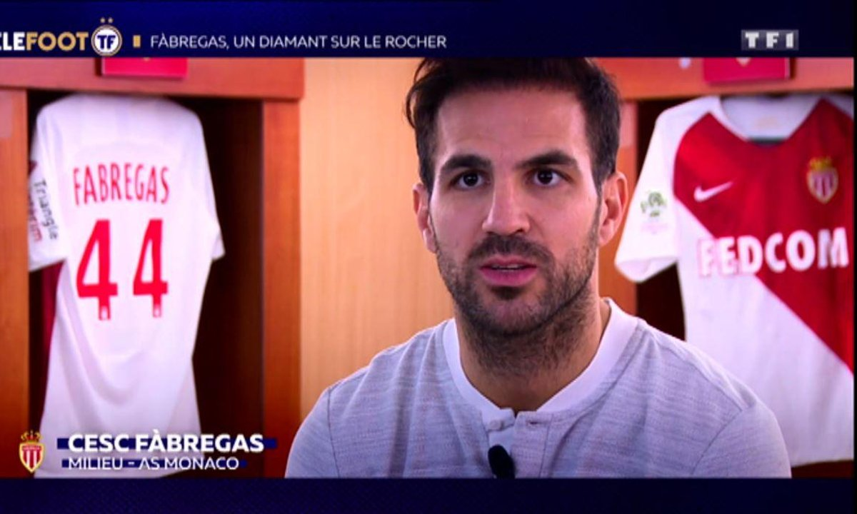 AS Monaco : Fabregas, un diamant sur le rocher