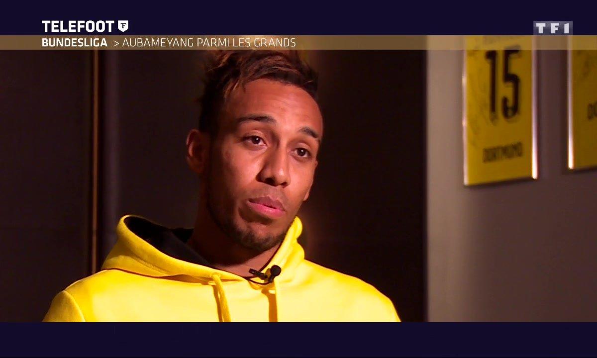 Aubameyang : « Je veux faire comme Ronaldo ou Messi »