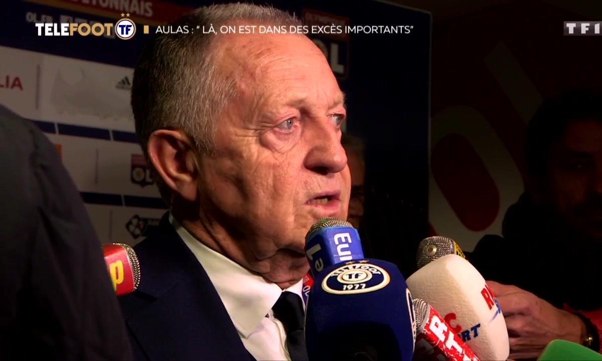 """Football Leaks - Jean-Michel Aulas : """"Là, on est dans des excès importants"""""""