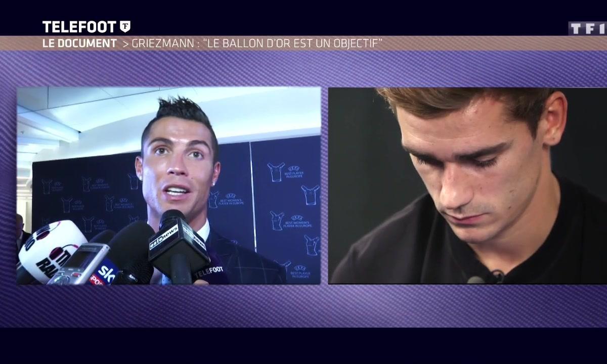 Le beau message de Cristiano Ronaldo à Antoine Griezmann