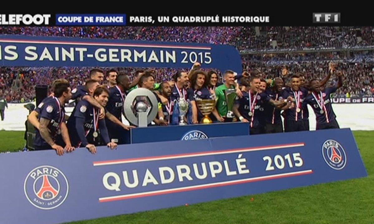 Coupe de France : Paris, un quadruplé historique