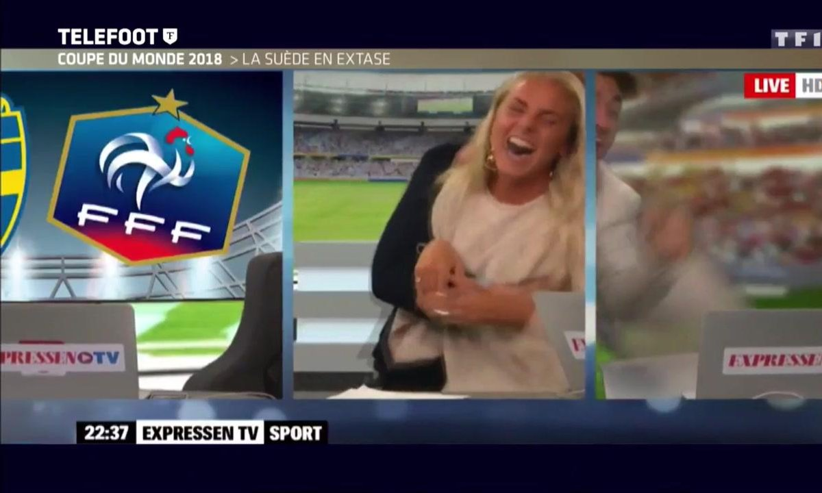 Coupe du monde 2018 : La Suède en extase