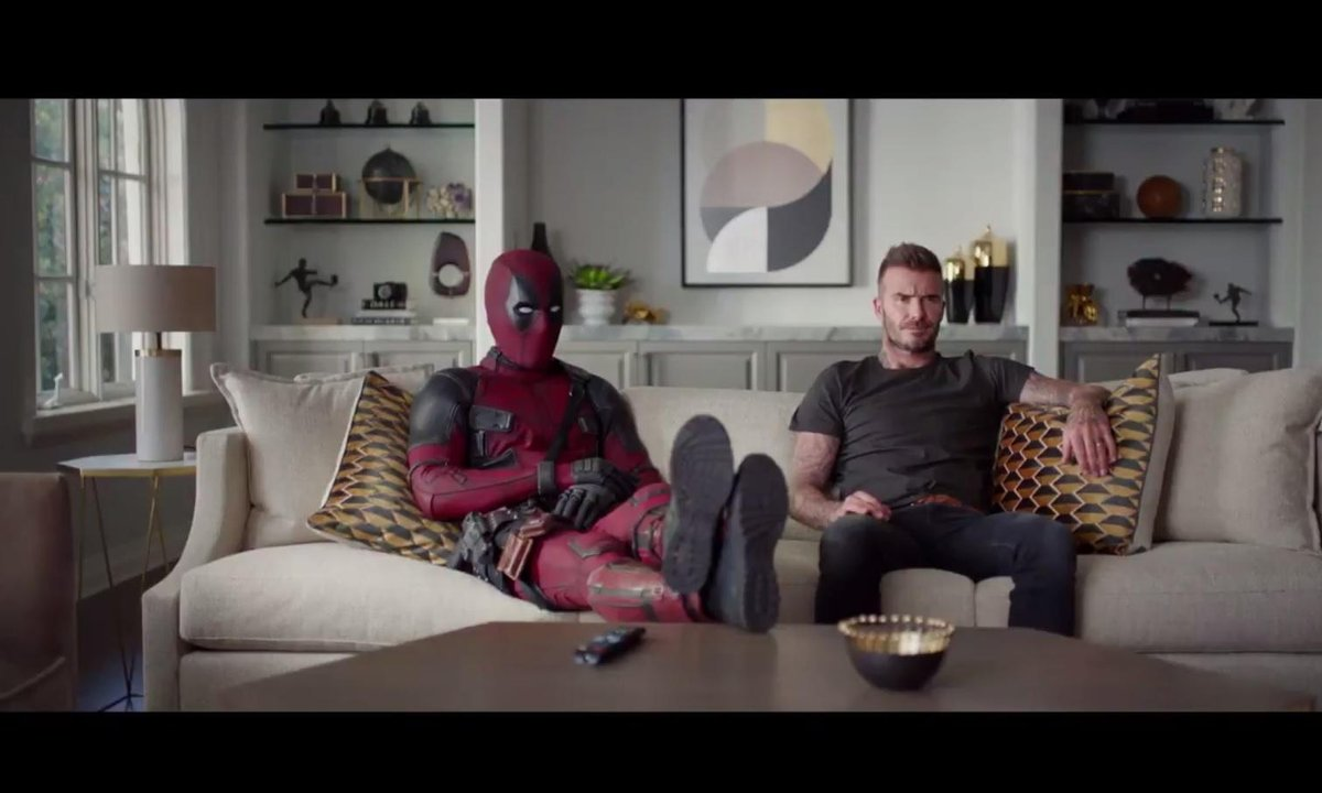 Insolite - Deadpool s'invite chez David Beckham